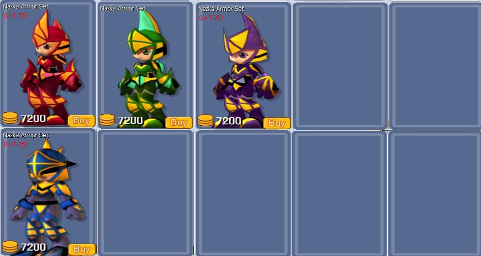 Nazka Armor Set