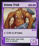 Stone Troll Card