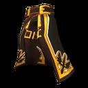 聖戰士黑色褲子