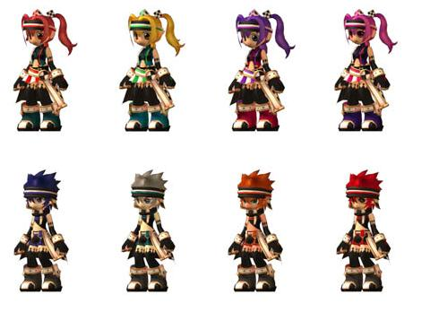 King and Queen of Hearts Armor Set