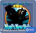 Gunslingin' Lady Signboard