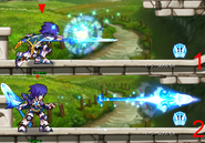 Dragon Knight Erudon Weapon Magic Spear FRONT