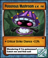 Lvl 16 - Poisonous Mushroom