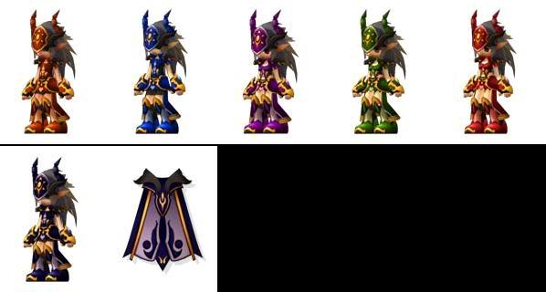 Vanessa Armor Set