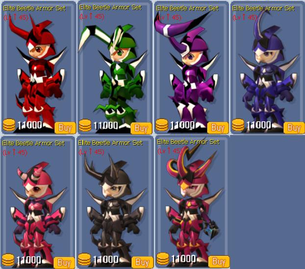 Elite Beetle Armor Set