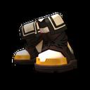 聖戰士黑色鞋子