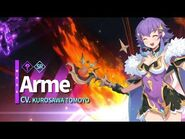 Genius Magician from the Violet Mage Guild- Arme