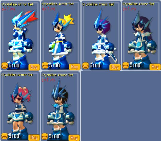 Crystalline Armor Set