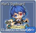 Mari's Signboard