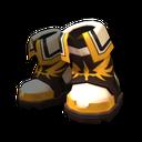 聖戰士異色鞋子