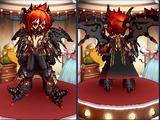 Ebon Inferno Armor Set