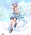 Swimsuit fail blue
