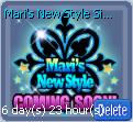 Mari's New Style Signboard