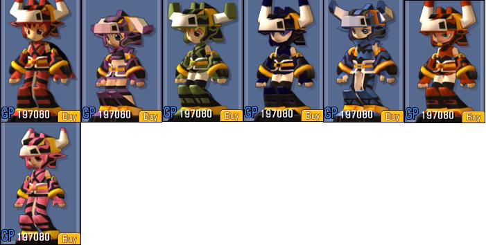 Bull Armor Set