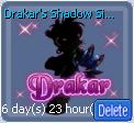 Drakar's Shadow Signboard