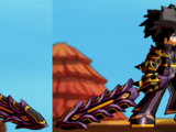 Saint's Black Armor Set