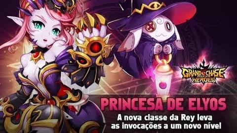 Grand Chase - 3ª Classe da Rey - Princesa de Elyos