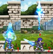 Dragon Knight Erudon Weapon Magic Spear UP