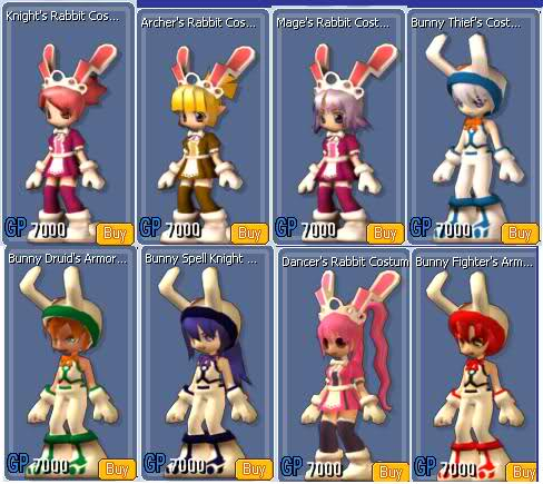 Bunny Armor Set