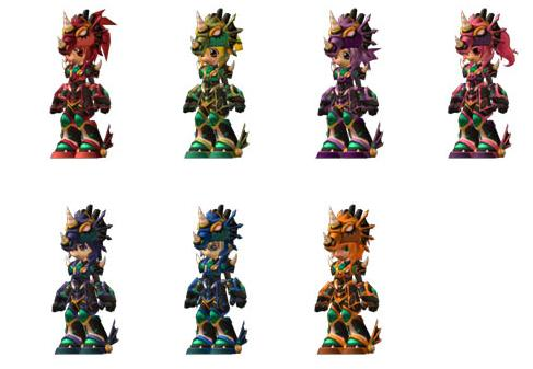 Leviathan Lord or Lady Armor Set