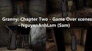 Granny Chapter Two - Game Over scenes (version 1