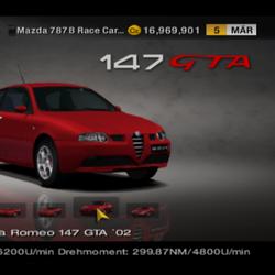 Alfa Romeo 147 GTA ´02