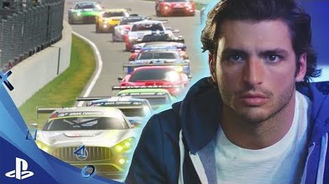 Anuncio TV Gran Turismo Sport con Carlos Sainz en Español