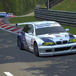 BMW M3 GTR Race Car '01