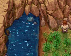 Ursprung des Flusses