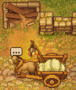 Corpse delivery, the donkey has something to announce
