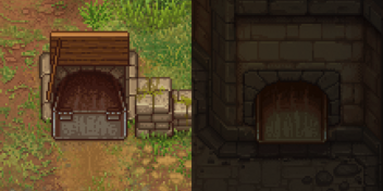 Corpse hatch fixed, outside and inside