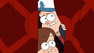 S2e7 dipper and mabel looking out