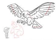 Chris Houghton S1e13 eagle swoop rough