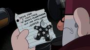 S2e14 dipper's note