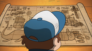 S2e20 Dipper blocking the blueprints
