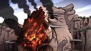 S2e14 mayor rock on fire