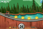 Gameplay mystery tour ride