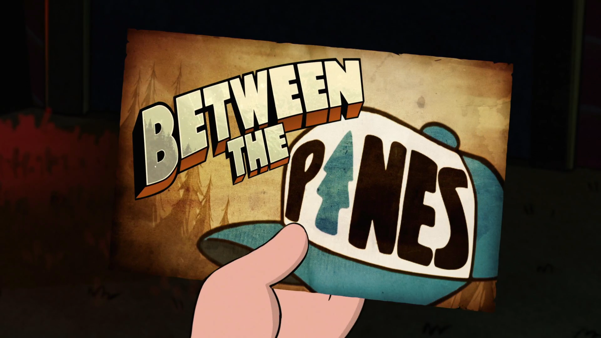 Between the Pines