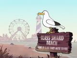 Glass Shard Beach, New Jersey
