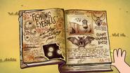S1e1 3 book floating eyeballs