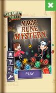 GF Magic Rune Mystery - Start Menu