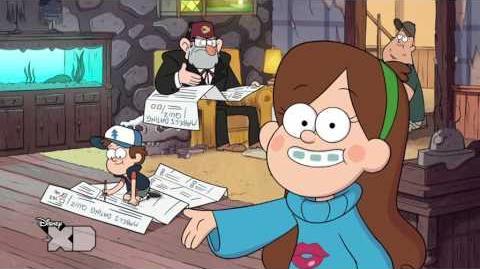 Gravity Falls -- L'arte della conquista - La guida di Mabel