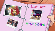 Short16 stand-off at the ragtime