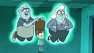 S1e5 mabel looking at the ghost