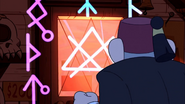 S2e20 runes on the door