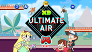 Ultimate air home page with dipper and mabel