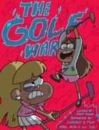 Matt Braly The Golf War promo art