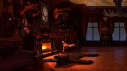 S2e10 fireplace glowing