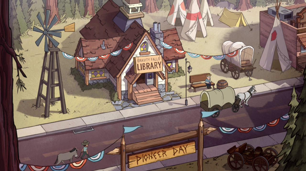 Gravity Falls Library