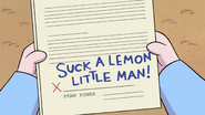 S1e11 suck a lemon